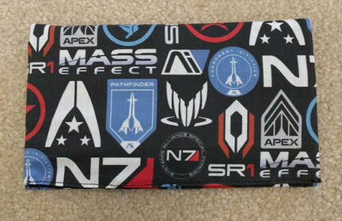Mass Effect wallet sewing etsy stuff for sale