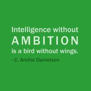 Quote Of The Day: May 16, 2013Intelligence without ambition is a bird without wings. ― C. Archie DanielsonView Post