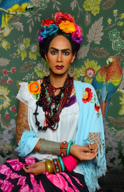 I am absolutely living for Raja @sutanamrull as Friday Kahlo. Happy Cinco de Mayo! Fierceness is Always Welcome. (Photo Credit: Jose A Guzman Colon)