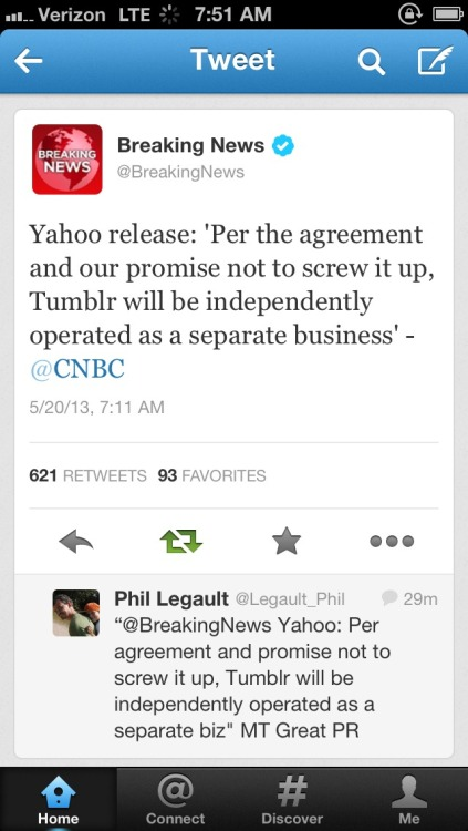 hannahpkmn:  even yahoo knows they would've screwed it up.