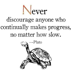 Keep going at your own pace