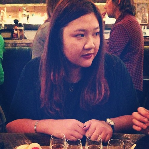#fbf birthday girl @delta__lima and her tequila tasting plate.  (at Touché Hombre)