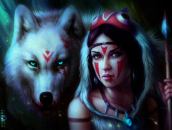 mererecorder:  Mononoke Night by =sanguisGelidus