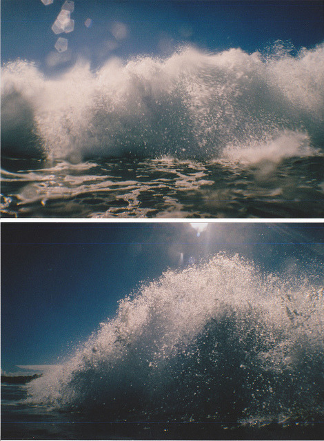 cyan0sis:  Waves by alexbowler on Flickr.