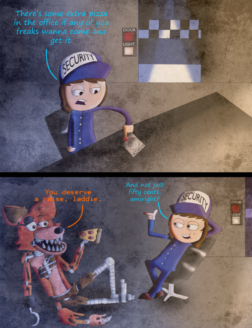 Short comic about five night s at freddy s starring me as the