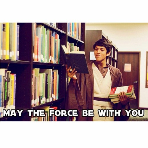 Finals are coming up.  #utb #starwars #theforce #finals #library #instacollege  (at University Of Texas Library)