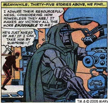 The Eyeballer.  Fantastic Four #40 (1965)
