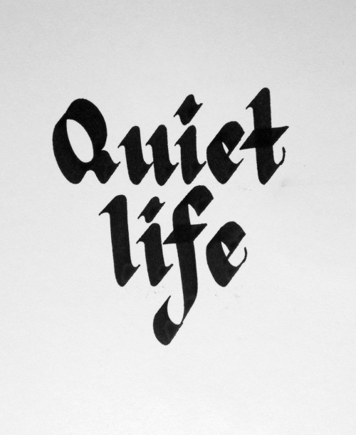 betype:  Quiet Life by Shea Sjoberg  Get inspired on Betype.co