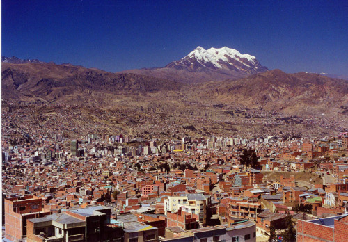 yesixicana:  deafmuslimpunx:  daily-useless-trivia:  La Paz, the parliamentary capital of Bolivia, is the world's highest capital city, at an altitude of 3,650 metres above sea level.  Beautiful  This person I was dating was from Bolivia…