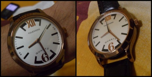 "NEW WATCH! Thank you duday @heyimria I love you so much :""> #ohyeah"
