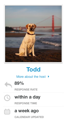 despairbnb:  Host is a dog. ★★★★★
