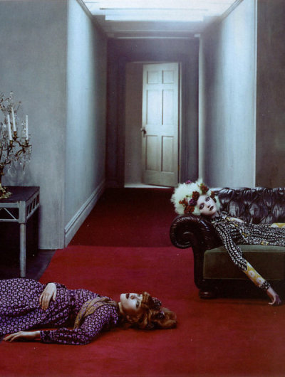 Vlada Roslyakova & Solange Wilvert by Steven Klein for Vogue Paris, 2005
