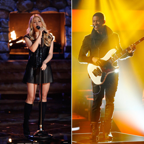 We can't wait for you to see Shakira and Usher take the stage with their teams tonight! Our LIVE results begin at 9/8c on NBC!