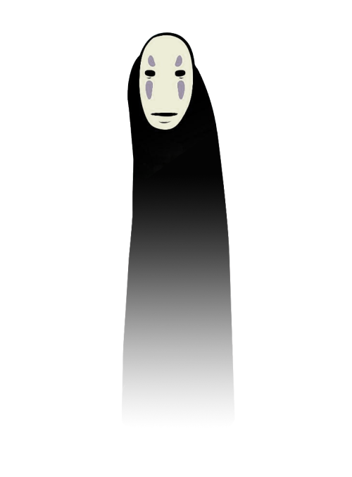 totallytransparent:  Semi Transparent Fading No Face (Spirited Away)Made by Totally Transparent