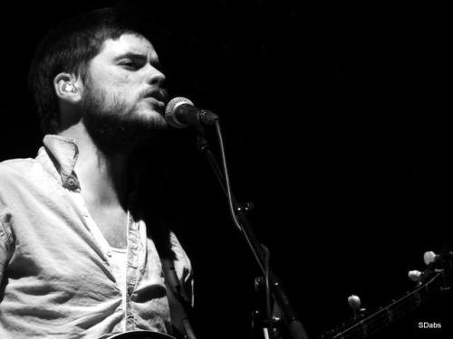 Winston Marshall of Mumford & Sons performs at the Barclays Center in New York City on February 6, 2013. Photo submitted by the photographer, Stefanie Dabs/assaidinthetitle.