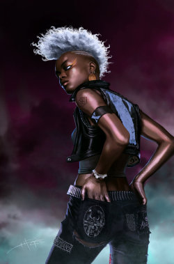 blithefool:  rahzzah:  Storm by ~Rahzzah I think we can all agree, that Punk Rock Storm was the best Storm…  Just…wow.