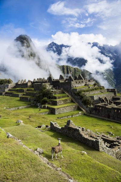 #machu_picchu, #peru, #inca, #andes, #lost_city, #llama, #south_america, #travel, #unescu, #world_heritage, #history, #architecture, #tourism, #mountains, #clouds, #landscape