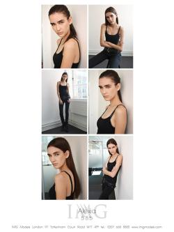 Scouted by me  @ Alexia Bellini in new pics for #IMG #MODELS #LONDON