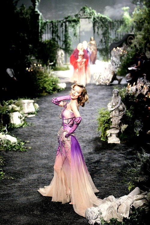 Eva Herzigova at Christian Dior Haute Couture F/W 2005