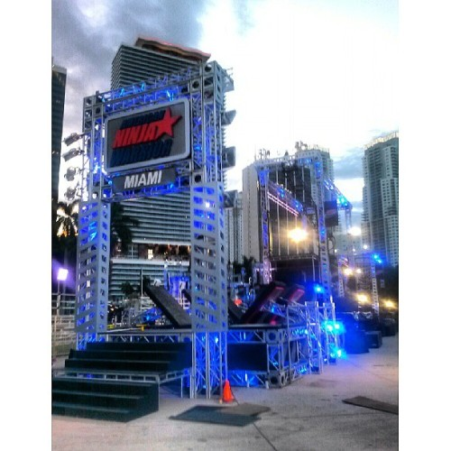 America Ninja Warrior 2013 - On set #photographer #photoshoot #nikon #canon #instamood #instagood #love #outdoors #fashion #clothing #model #fotografia #mua #photography #modeling #photooftheday #dj #music #art #nature #35mm #anw #hairstylist #americaninjawarrior #onset