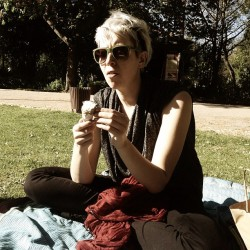 lazy sundays in lisbon: ice cream in the park with paula + @filipasobral