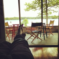At the lake again. Lounging.  (at Lake Chargoggagoggmanchauggagoggchaubunagungamaugg)