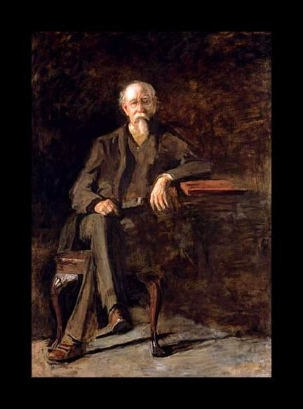 Dr. William Thomson, by Thomas Eakins
