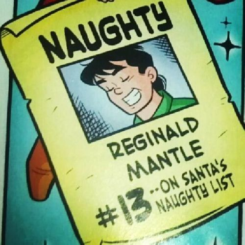 Archie 639 (2012)  Naughty: Reginald Mantle.
