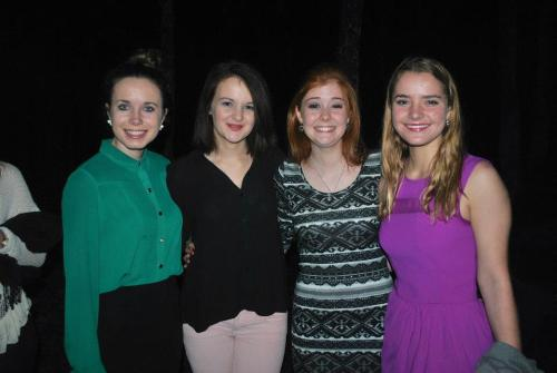 Some of my beautiful friends and I. <3