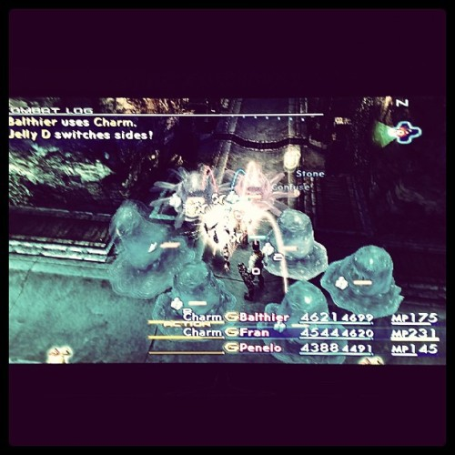 Final Fantasy XII auto-leveling  #ps2 #classic #finalfantasy (at PB&J's)