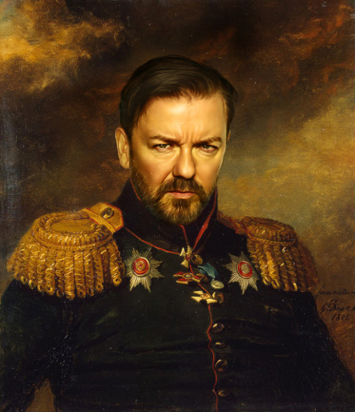 Ricky Gervais by replaceface