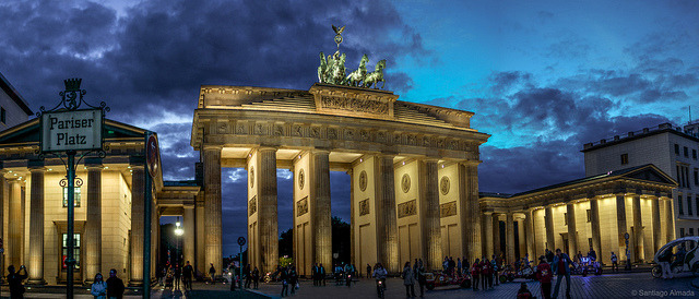Brandenburg Gate on Flickr.Pariser Platz