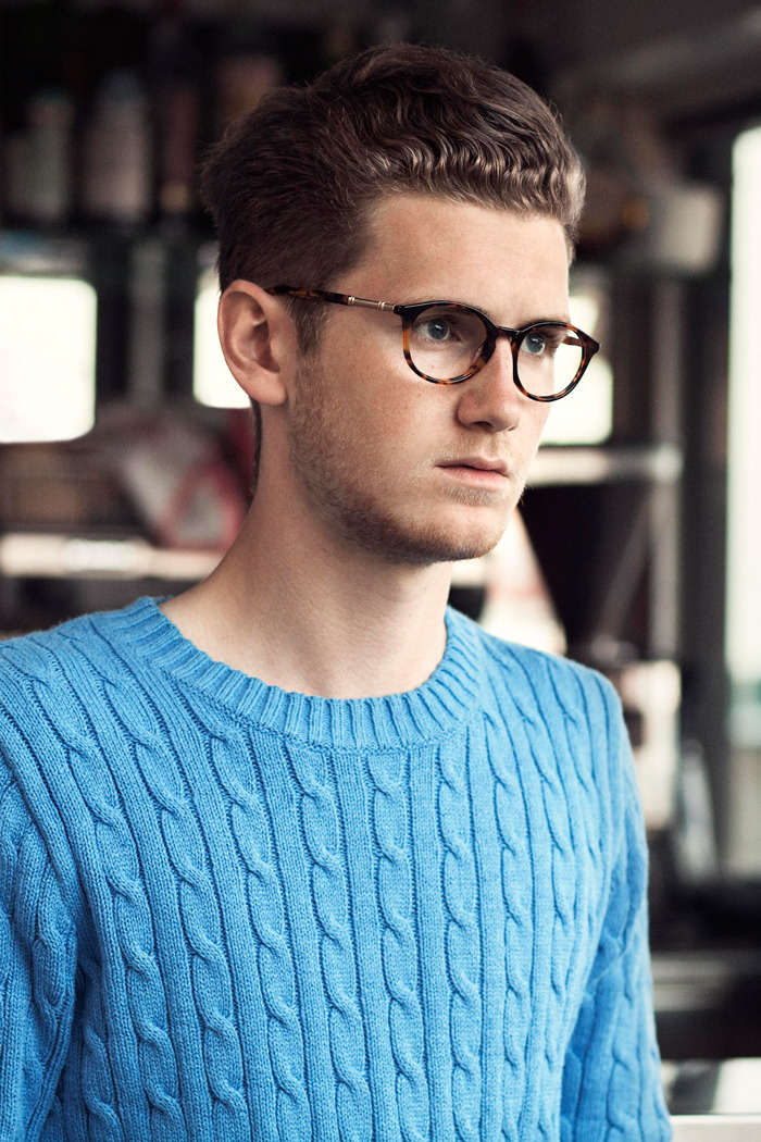 Noah Emrich for Gant Rugger Spring/Summer 2013.