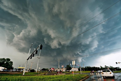 digg:  Post-storm clouds in Moore, Oklahoma.