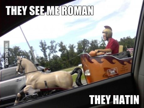 9gag:  Romans got it into a whole new level