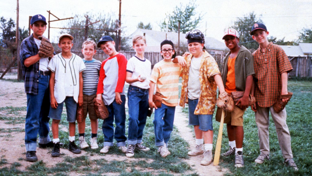 "bleacherreport:  Twenty years ago today, The Sandlot was released and we got to see Benny ""The Jet"" Rodriguez lace up his P.F. Flyers and pickle ""The Beast"".Two decades later, we reflect on the 20 reasons that make it the greatest movie ever: http://ble.ac/10FxFxm"