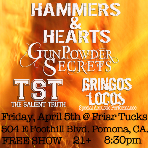 FREE SHOW THIS FRIDAY IN POMONA!!!!!