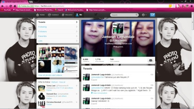 Yieeeeee ^____^ I so love my new Twitter background. HAHAHA! :D ♥__♥ My Exo crush Sehun. Yeyyyy! ;)  Follow me @jlbeynteseiz on Twitter. I'll follow you back lang :]]