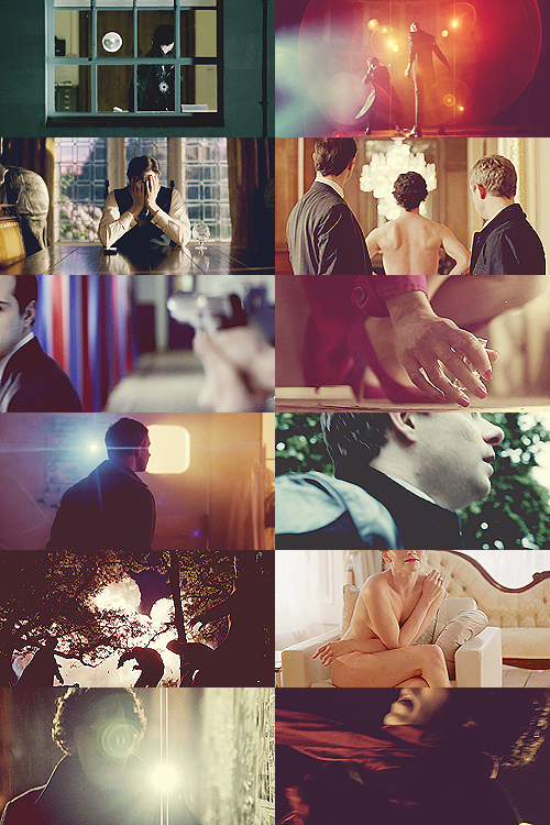 screencap meme: faceless + sherlock series