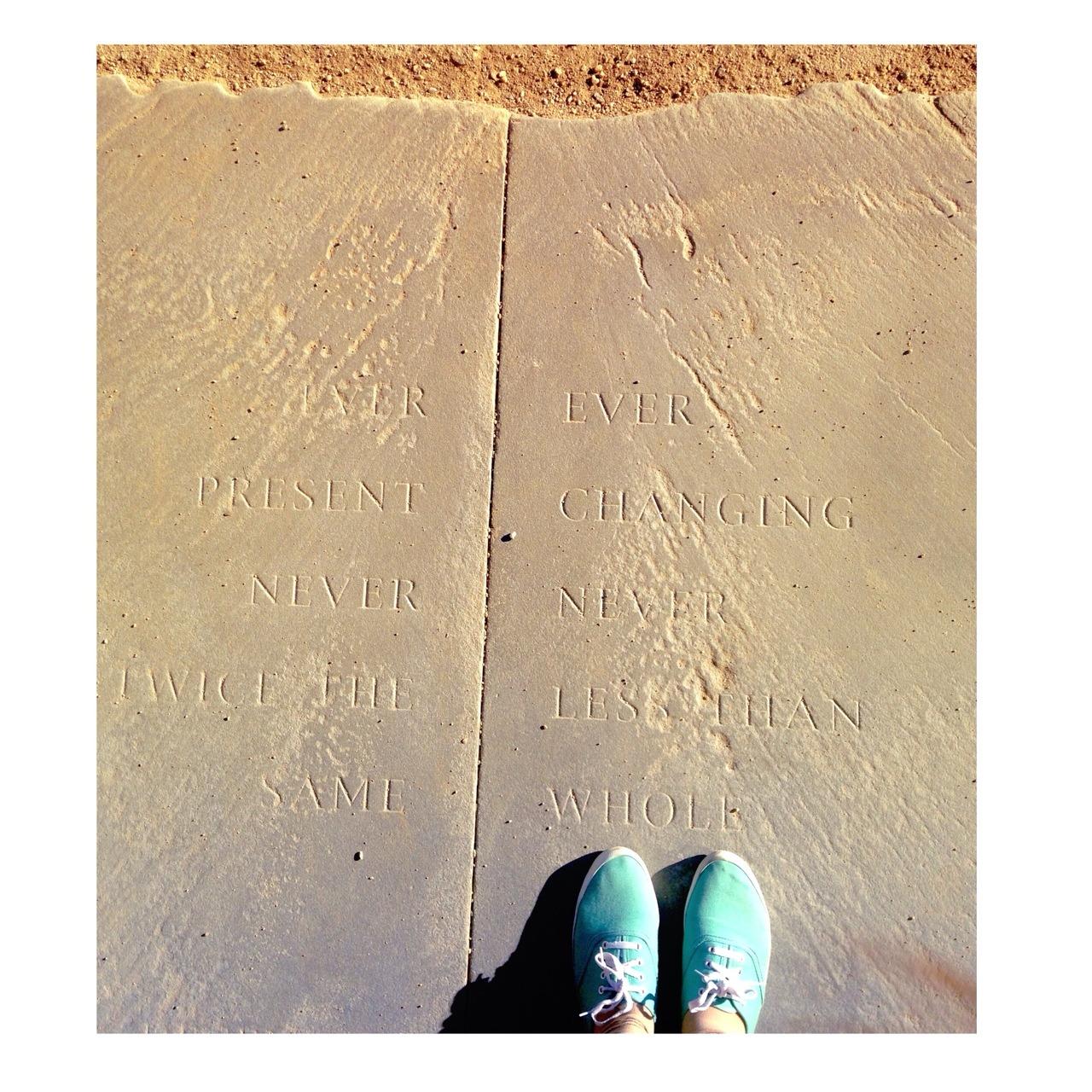 Nothing is written in stone