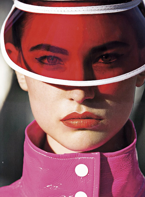 furples:  Jacquelyn Jablonski by Hans Feurer for Antidote Spring/Summer 2013 'The Street Issue'