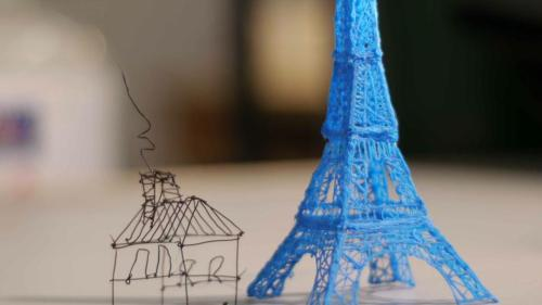 This 3D Printing Pen Lets You Draw Sculptures in Midair Available on Kickstarter (via Mashable)