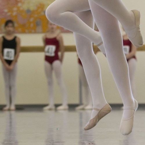 Young dancers go through paces as they audition for a place at the National Ballet School of Canada in Toronto on Sunday January 27, 2013. (Chris Young for The Globe and Mail) #ballet #dance #toronto