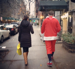Ryan Osborn spotted a heartwarming Santacon walk of shame.