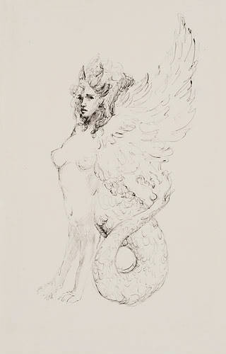 venusmilk:  Leonor Fini… Sphinx (source)