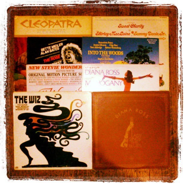 Eight #Favorite #Vinyl #Soundtracks: #Cleopatra #SweetCharity #TheRose #IntoTheWoods #TheWomanInRed #Mahogany #TheWiz #LadySingsTheBlues