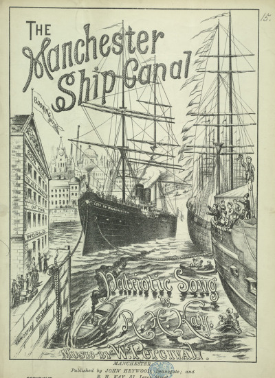 - Manchester Ship Canal Patriotic Song -(sheet music)