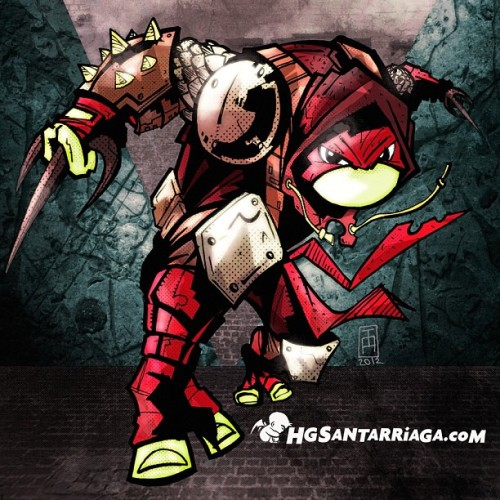 Raphael from #TMNT #cowabunga #illustration