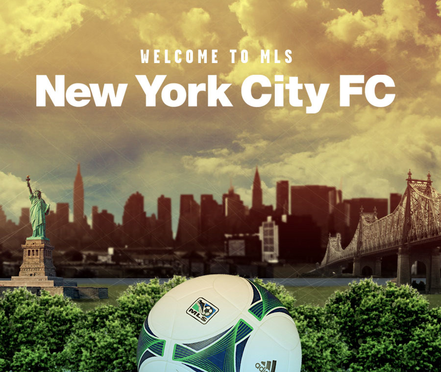 There's a new MLS team in NYC. Yankees, Man City partner on New York City Football Club. Here are details: http://usat.ly/14trmQw