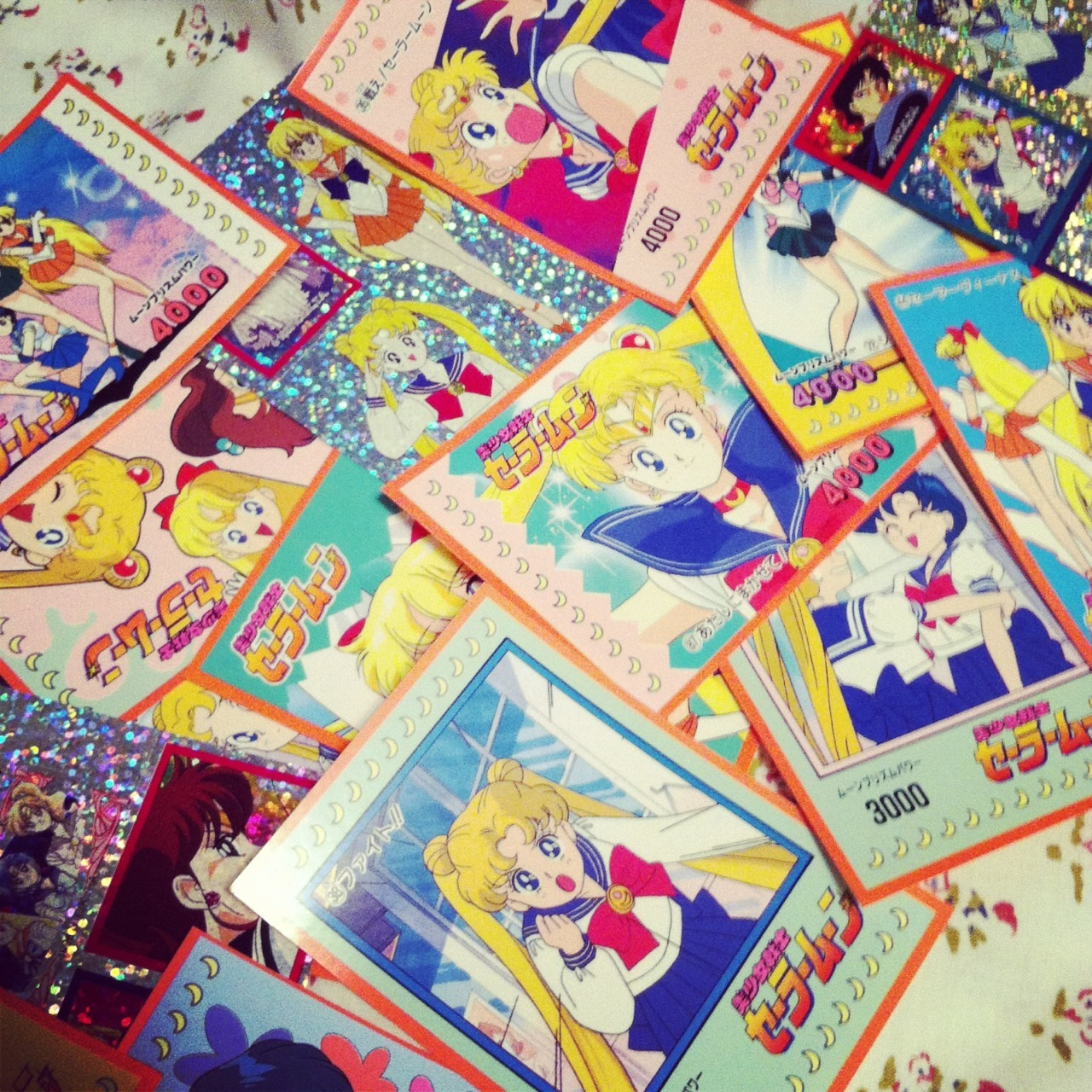 sailorr-goon:  My sailor moon stickers